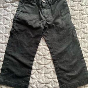 Boys Polo black dress pants size 2T